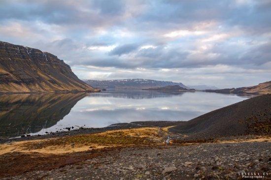 Akranes, Islandia: Китовый залив