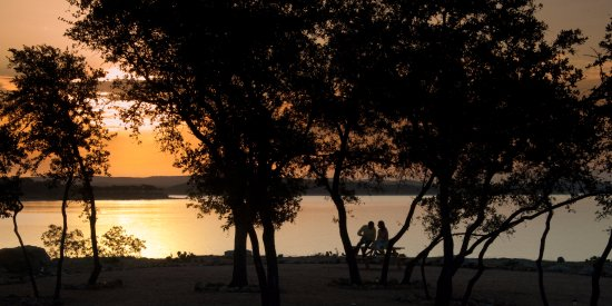 Canyon Lake, TX: Enjoying the Sunrise from The Pointe