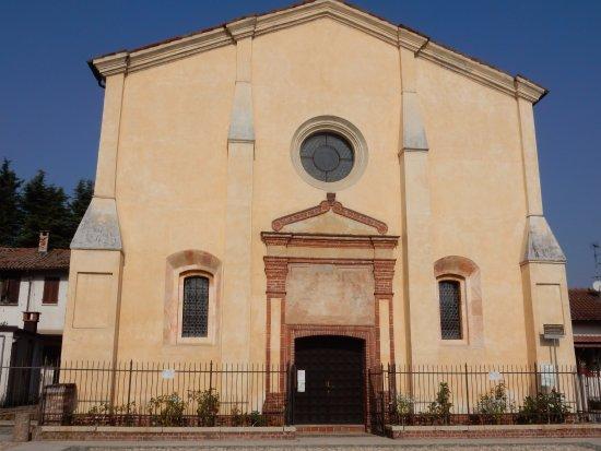 Mortara, Италия: Facciata del santuario