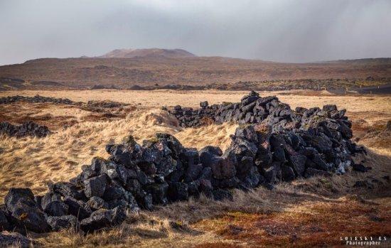 Hellnar, Islandia: Лондрангар