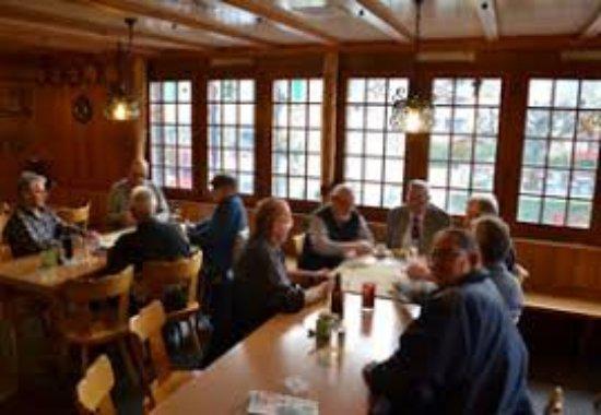 Dallenwil, Switzerland: Gasthaus Schlüssel, Innenansicht