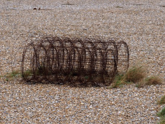 Orford, UK: Old wire