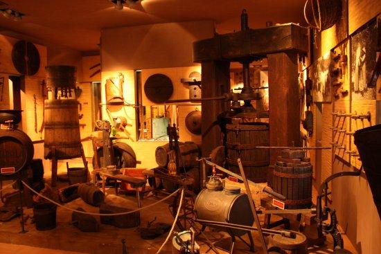 Montemassi, Italie : Interno del museo