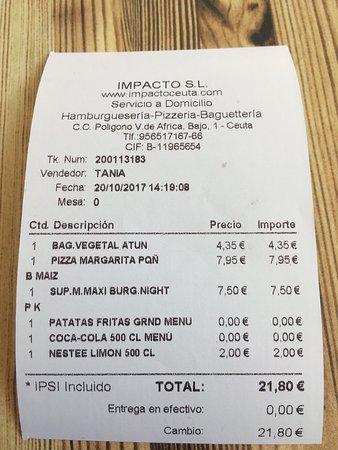 imagen Impacto en Ceuta
