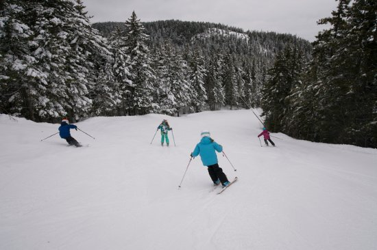 Newry, ME: Skiers and riders of all abilities find ample, suitable terrain thanks to Sunday River's size.