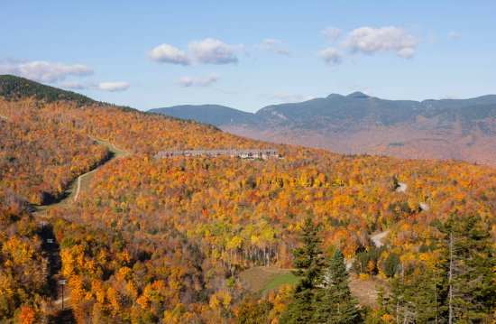 Sunday River Resort: The Jordan Hotel boasts amazing mountain views year-round.