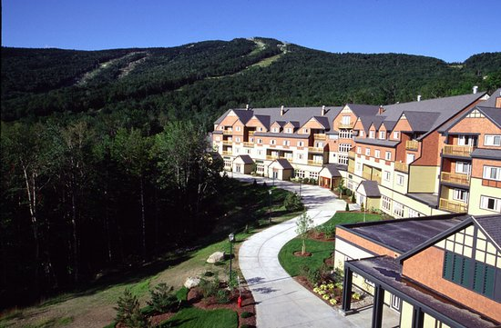 Sunday River Resort: The Jordan Hotel's mountainside location is beautiful year-round.