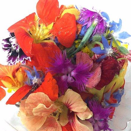 Flores De Decoracion Picture Of Almoraduz Cocina Mexicana De