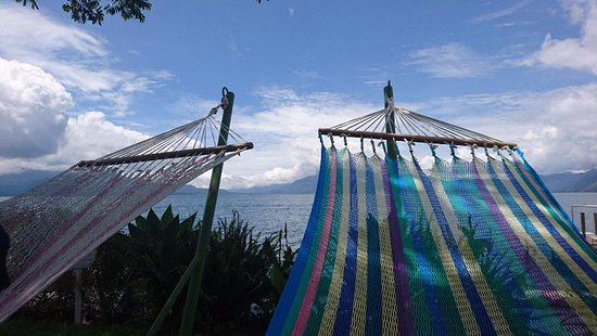 Jardines del Lago: Hammocks in the afternoon