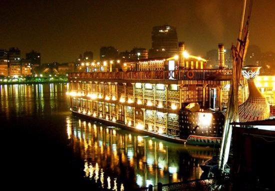 The place boat nile pharaohs cairo restaurant reviews for Maxim design hotel 3 star