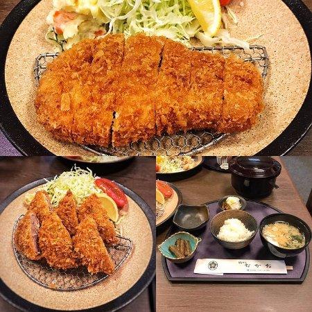 Yuki, Ιαπωνία: ロース、ヒレカツ定食