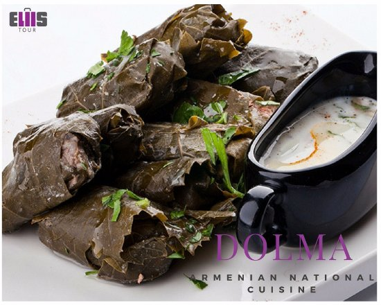 Dolma made with grape leaves armenian national cuisine for Armenian national cuisine
