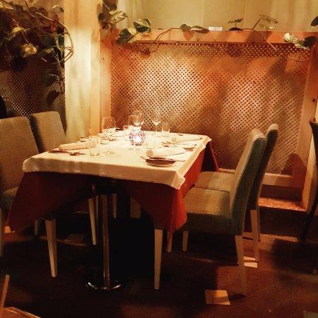 Restaurant Es Pati: Innenhof