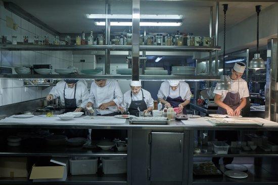 Cuarto fr o picture of els tinars llagostera tripadvisor for Cuarto frio cocina