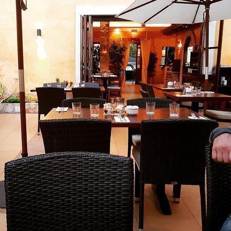 La Casita: Terrasse