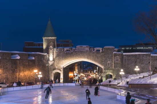 Quebec City, Canada: Old Québec in Winter