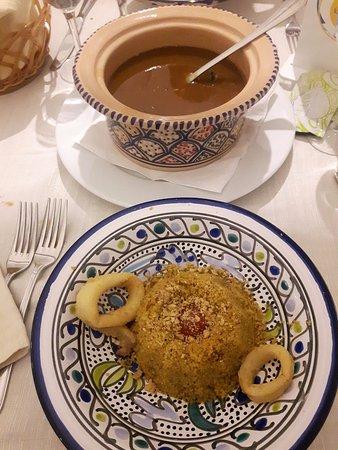 Dal Cozzaro : Cous cous di pesce con cernia e cozze