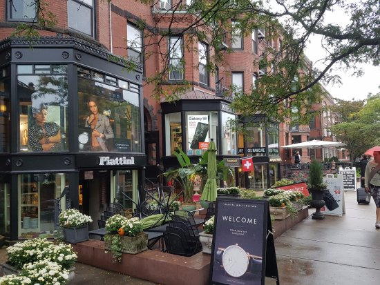 Newbury Street Cafe Boston