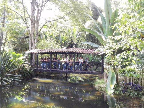 Jerico, Colombia: En uno de los puestos del Jardín Botánico