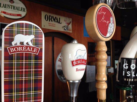 Sorel, Kanada: Bieres en fut