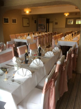 Crafthole, UK: Wedding reception