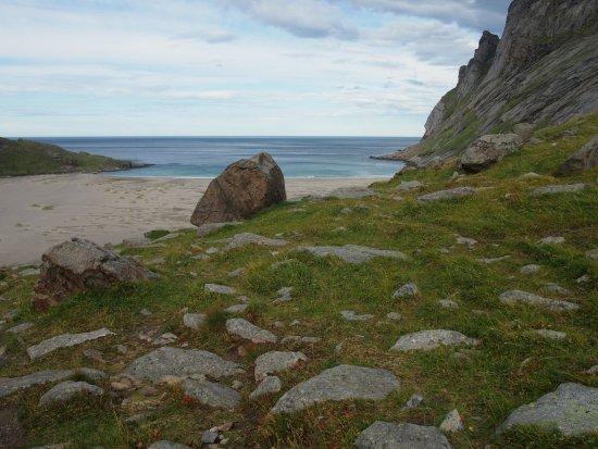 Рене, Норвегия: 砂浜の向こうは大西洋