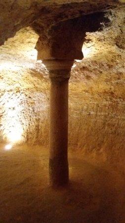 Argamasilla de Alba, Espanha: Es muy curiosa esta columna