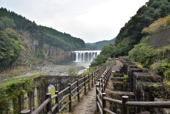 Chinda Fall: 沈堕の滝と沈堕発電所跡