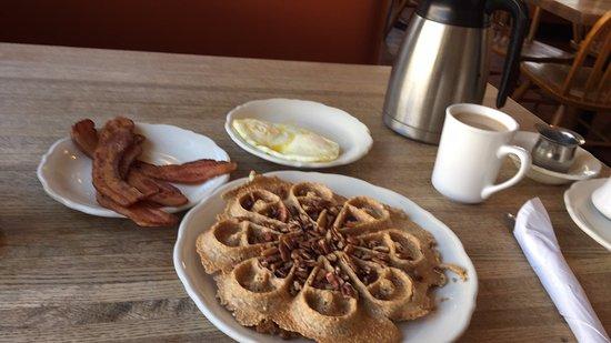 Park Ridge, IL: Gluten free amaranth waffle