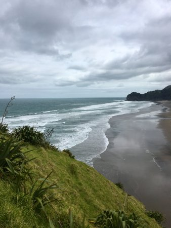 Piha, New Zealand: View From Lion Rock