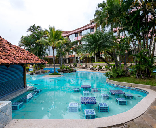 The Tropicala Pools at the Wyndham San Jose Herradura Hotel & Convention Center