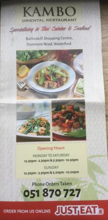 Good Food Thai Restaurant Waterford