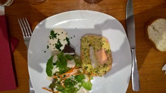 Pamiers, Francia: terrine saumon poisson