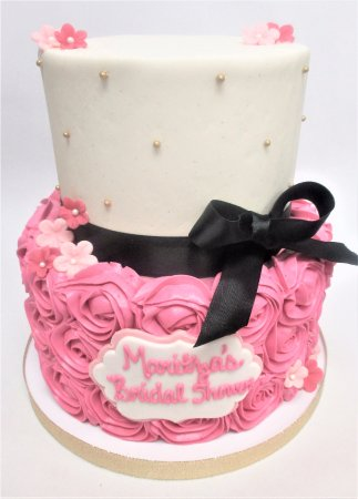 Flavor Cupcakery Bake Shop Bridal Shower Cake By