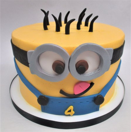 Flavor Cupcakery Bake Shop Minion Birthday Cake By