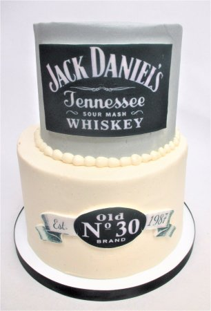 Jack Daniels 30th Birthday Cake by Flavor Cupcakery