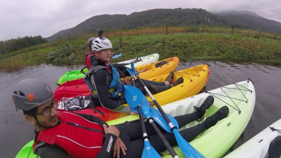 Harlech, UK: Day out Kayaking with Adrenalin Addicts
