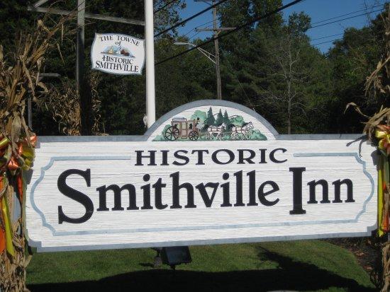 Smithville, NJ: Roadside sign