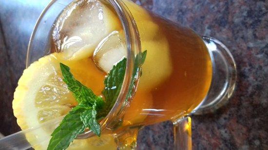 Matatiele, Sudáfrica: Ice tea and coffee