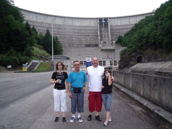 Bort-les-Orgues, Frankrike:  nous somme en bat du barrage de Bort - les - Orgue