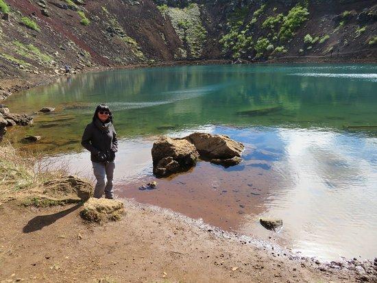 Selfoss, Islandia: The crater lake