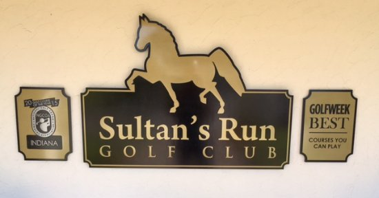 Jasper, IN: Sultan's Run Signage