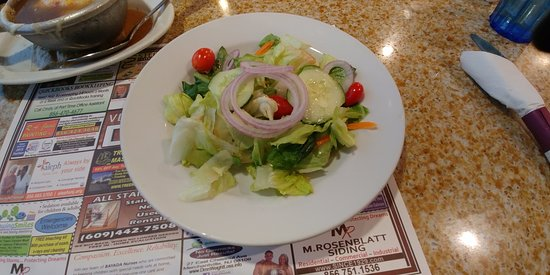 Voorhees, NJ: This is the house salad.