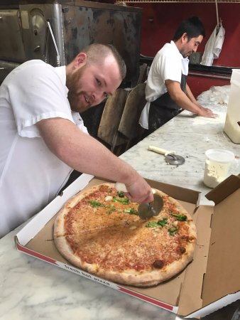 Cranston, RI: CUTTING THE PIE
