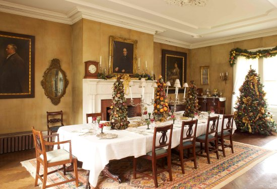 during the holidays the mansion s interior features elegant rh tripadvisor com