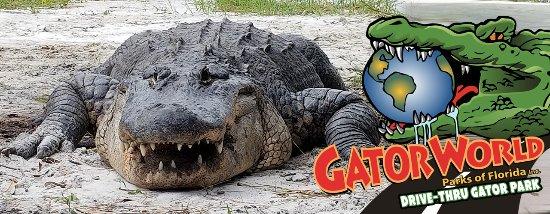 Wildwood, FL: Vist GatorWorld Parks of Florida!