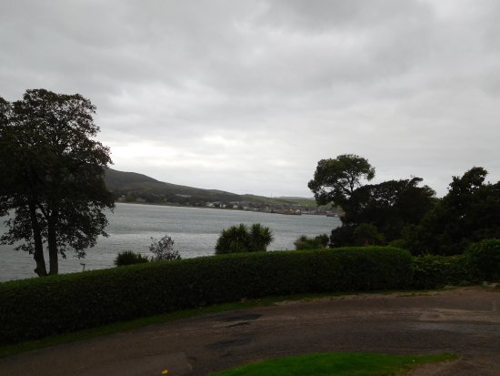 Campbeltown, UK: View from the garden accross the loch