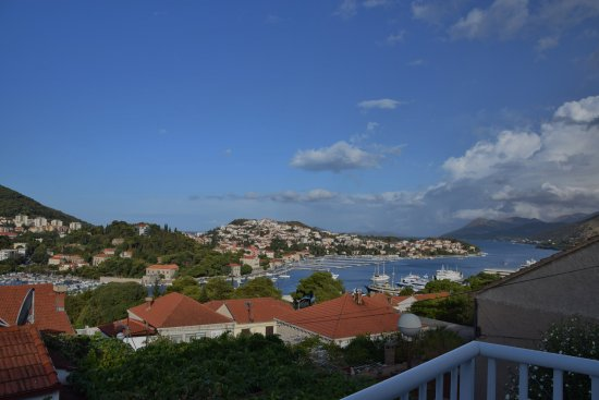 S&L Guesthouse: View from our balcony