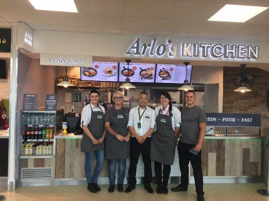 Ardley, UK: Arlo's