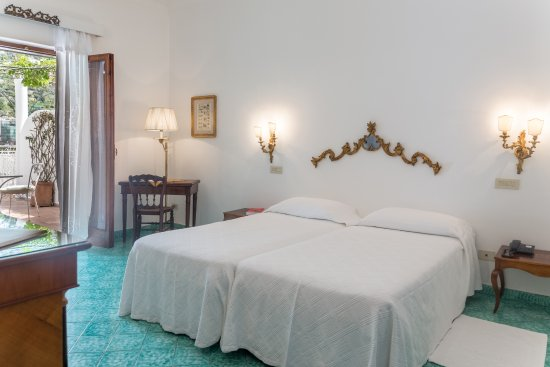 Hotel Poseidon: Twin Room with a private terrace - Positano and sea view